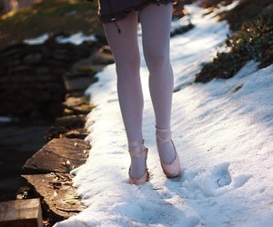 ballet and snow image