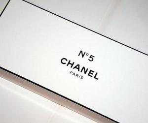 black and white, chanel, and typography image
