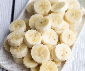 banana, fruit, and food image