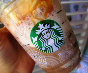 drink and starbucks image