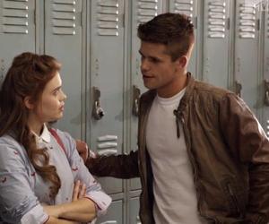 teen wolf, couple, and school image
