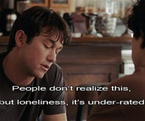 500 Days of Summer, lonely, and text image