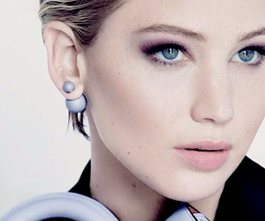 Jennifer Lawrence and dior image