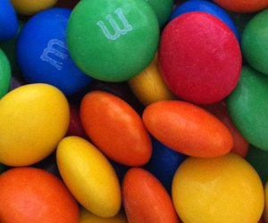 candy, colors, and m&m image