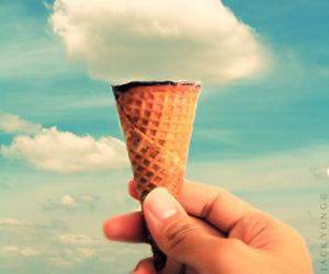 hunger, ice cream, and life image
