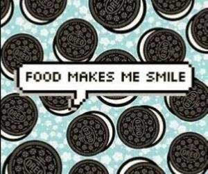 oreo, food, and smile image