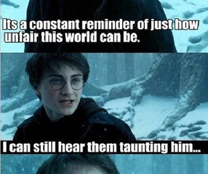 harry potter, funny, and trix image