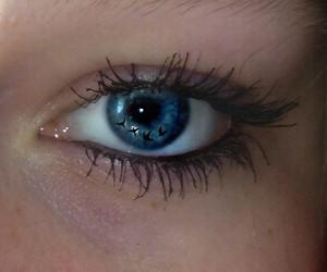 beautiful, blue, and eye image