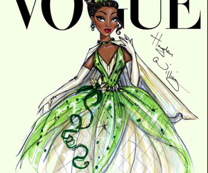 vogue, disney, and princess image