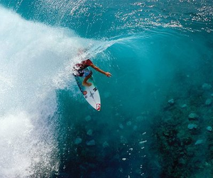 surf, waves, and surfing image