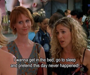 Carrie Bradshaw, quote, and subtitles image