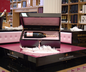 champagne, chandon, and moet image