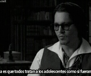 johnny depp, teenager, and quotes image