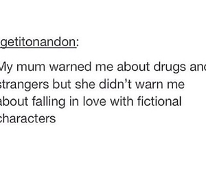 books, drugs, and falling in love image