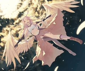 anime, no game no life, and anime girl image