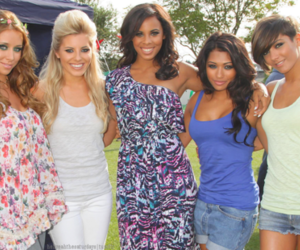 music video, rochelle wiseman, and the saturdays image