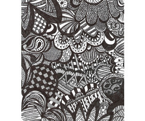 beautiful, doodle, and drawing image