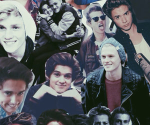 the vamps, brad, and Connor image