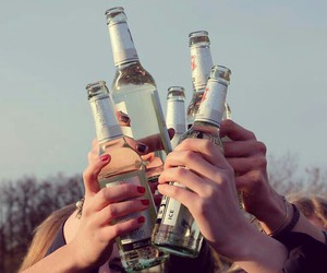 alcohol, drink, and friends image