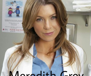 meredith, meredith grey, and grey's anatomy image
