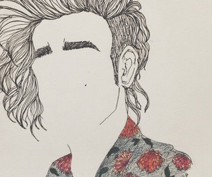 art, the 1975, and matty healy image