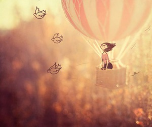bird, Dream, and fly image