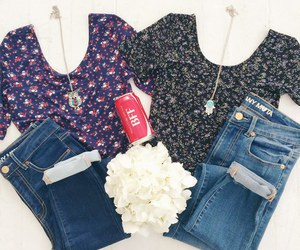 fashion, outfit, and bff image