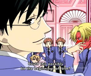 club, ouran, and high school host image