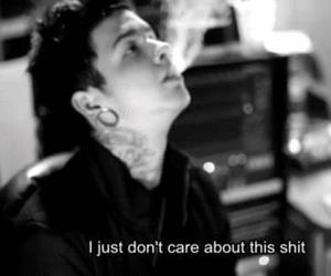 quote, t mills, and black and white image