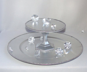 cake stand, cupcake tower, and candy stand image