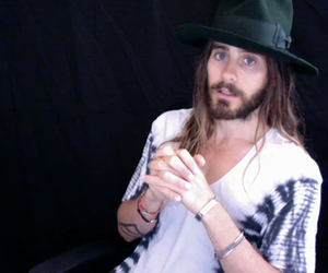 jared leto funny, jared leto 2014, and jared leto livechat image