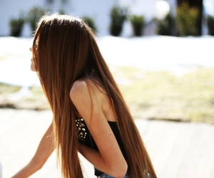 girl, hair, and pretty image