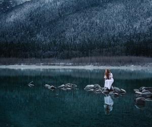 photography, lake, and nature image