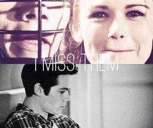 couple, teen wolf, and dylan o' brien image