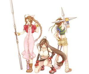 7, Aeris, and final fantasy image