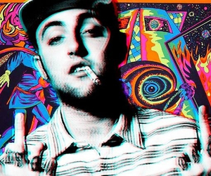 colorful, mac, and trippy image