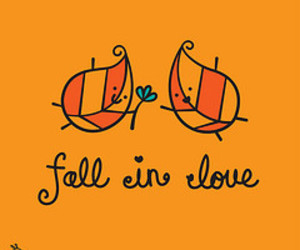 fall, fall in love, and cute image