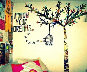 dreams, room, and follow image