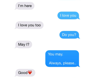 boyfriend, relationships, and texts image