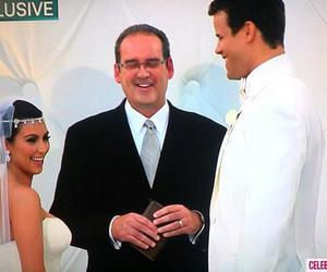 kim kardashian, wedding, and kris humphries image