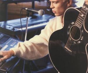 guitars, billy idol, and 80's music image