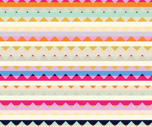 colors, pattern, and triangle image