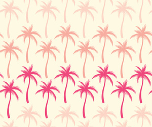 palms, pink, and background image