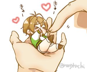 anime, girl, and nitroplus image