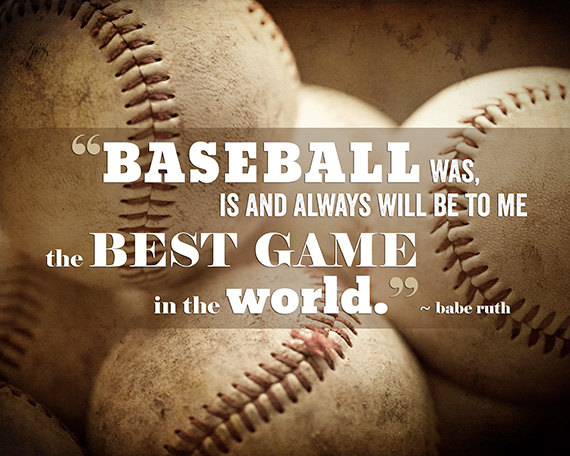 Baseball Quotes Cool 48 Captivating Baseball Quotes On We Heart It