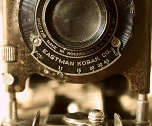 camera, kodak, and vintage image