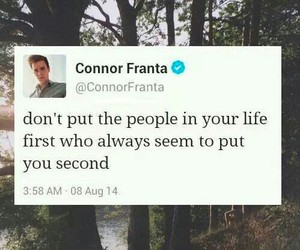 quote, connor franta, and twitter image