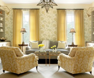 decor, yellow, and home image