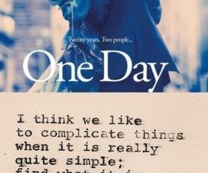 one day, quote, and movie image