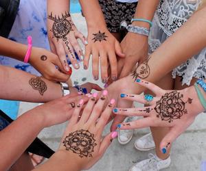 amazing, beautiful, and henna image